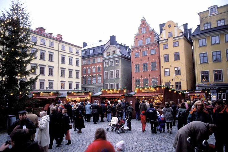Mercadillo navideño de Gamla Stan, Estocolmo - Los mejores mercadillos navideños de Europa