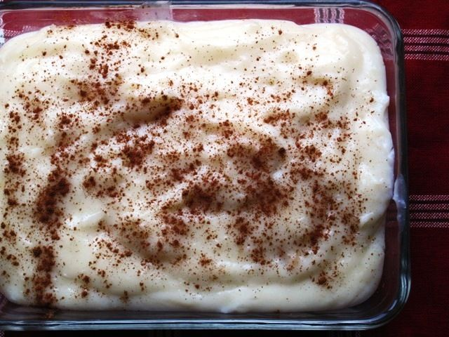 Natilla - a Colombian dessert traditionally served during the Christmas holiday. Mycolombianrecipes.com