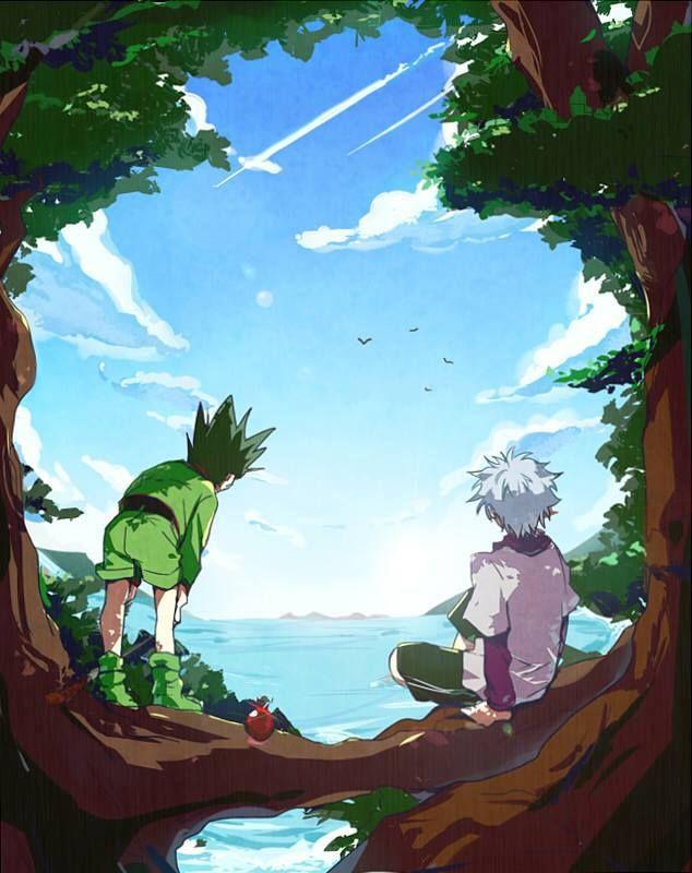 Hunter x Hunter - Gon & Killua