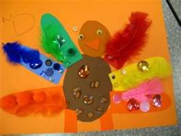 Thanksgiving Preschool Art- Cute art project