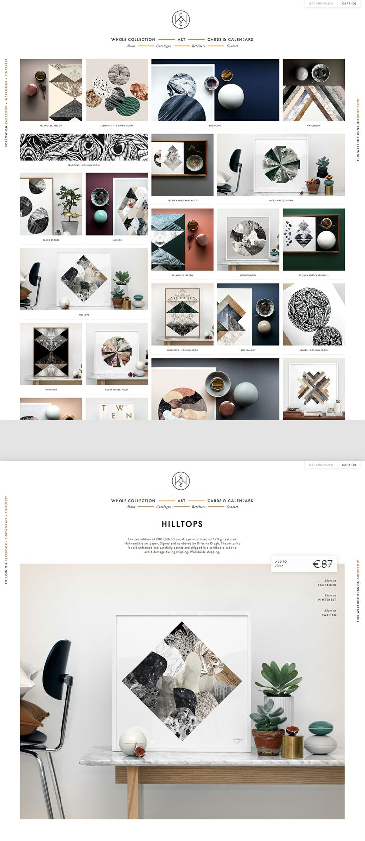Kristina Krogh Studio: www.kkrogh.dk Created in ShopFlow