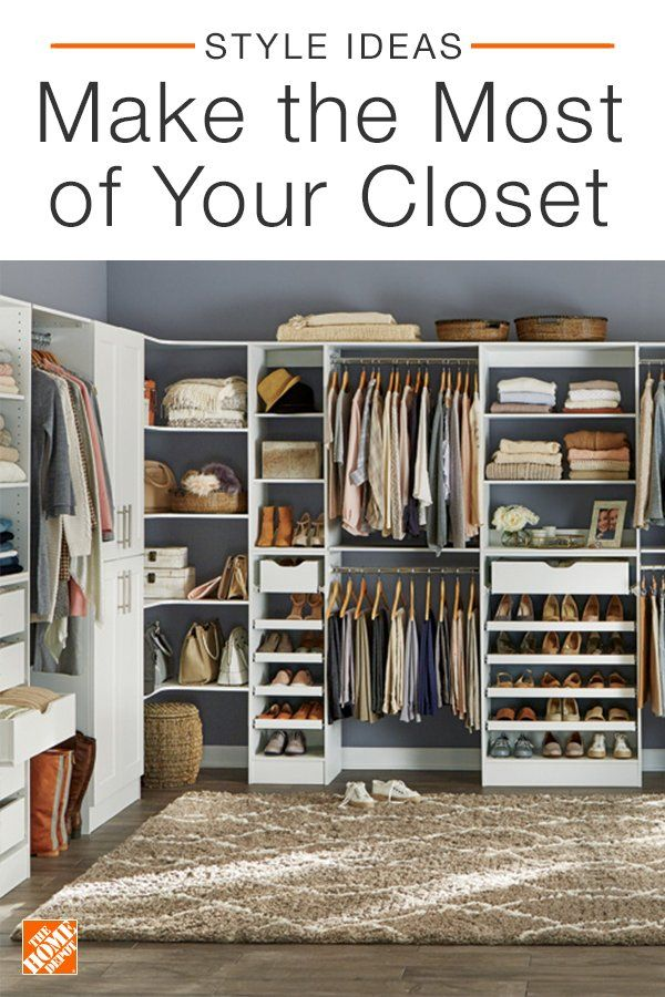 Our Selection Of Fun And Functional Closet Storage Makes It Easier Than Ever To Stay Organized Tap The Link In Our Closet Remodel Closet Layout Closet Design