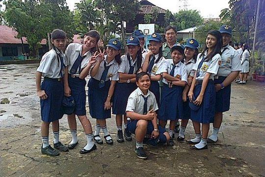 Siswa SMPN 7 Manado, Bawa Nama Sulut di Tingkat Nasional