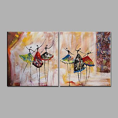 【今だけ☆送料無料】 アートパネル  人物画2枚で1セット ダンス ドレス 舞台 ショー【納期】お取り寄せ2~3週間前後で発送予定