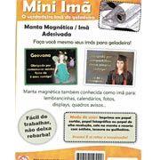 R$9,90 Ímã magnético (folha flexível 10x15) adesivado BrindplastPT 5 UN