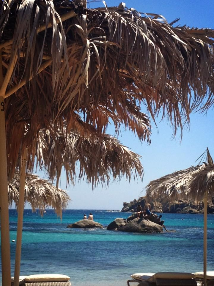 Mykonos Island Greece !!! who says u cant experience the caribbean style?