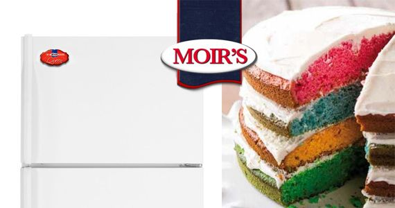 FREE Fridge Magnet from Moirs Baking Club