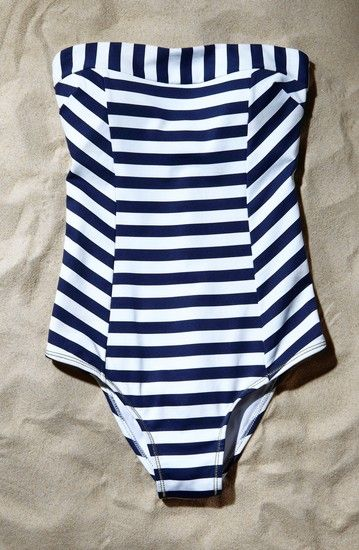 Singular Sensations: Strapless Swimsuits