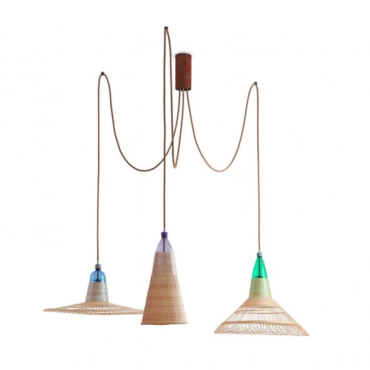 PET CH Set of 3 Lamps (Assorted)