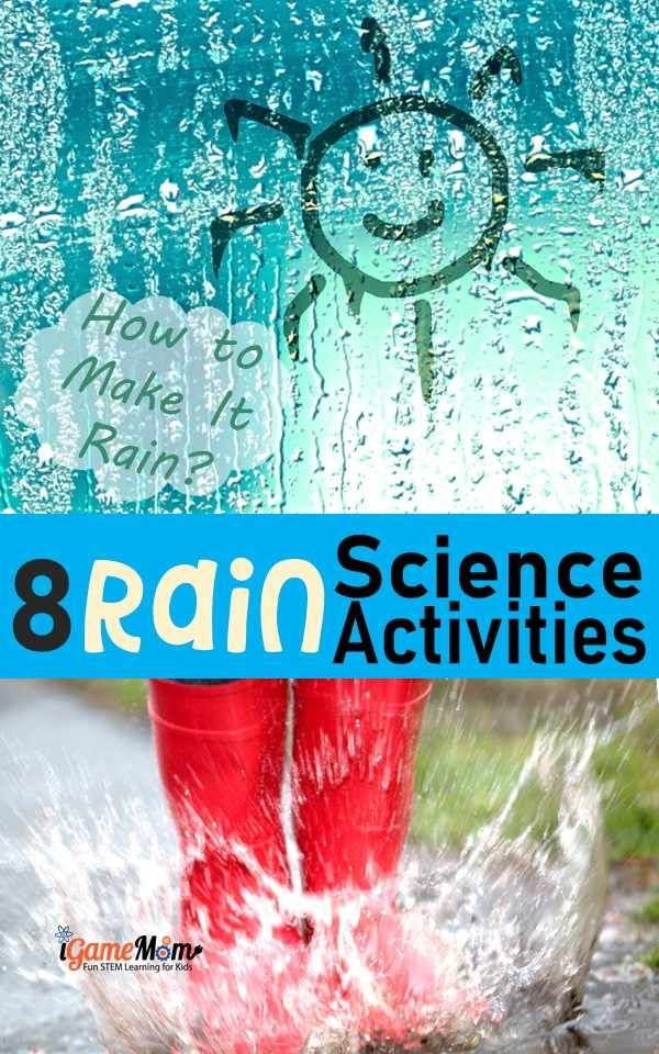 How To Make It Rain Science Activities For Kids