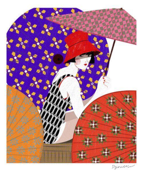Diyou Wu - Girl Under the Umbrella