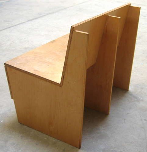Plywood Bench...looks easy!