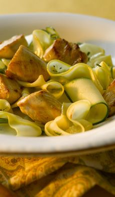 Zucchini ribbons, Vegetables and Ribbons on Pinterest