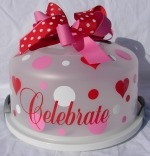 Celebrate cake carrier
