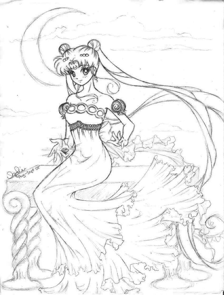 42 best images about princess serenity and prince endymion