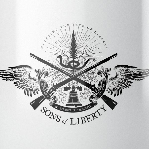 Resistance to Tyrants is Obedience to God - Sons of Liberty Insignia Mugs