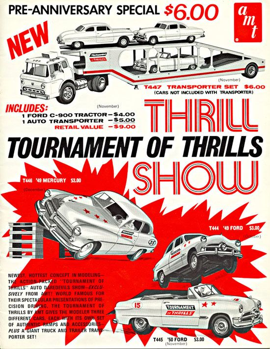 Model Car Ads & Fliers