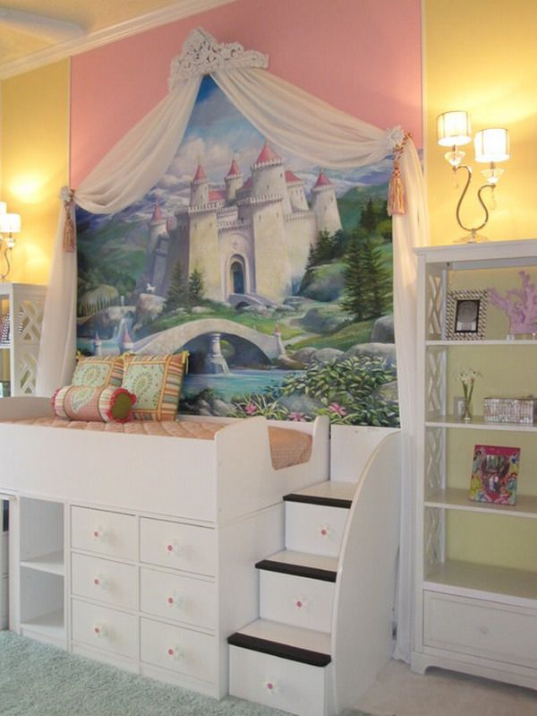442 best images about future baby girls bedroom on for Castle bedroom ideas