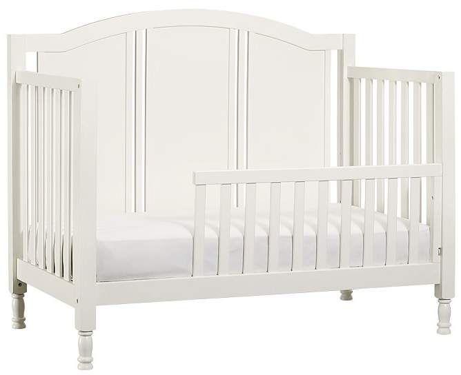 Pottery Barn Kids Catalina Crib Guardrail Conversion Kit Vintage Simply White Cribs Diy Toddler Bed Toddler Bed