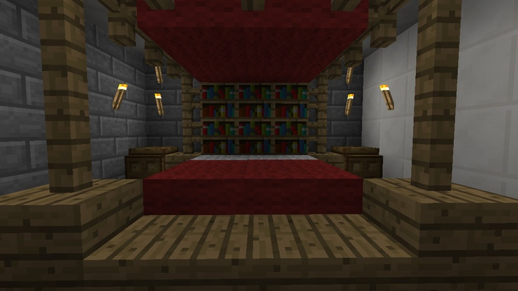 and the bed for the master bedroom minecraft pinterest 12301 | 90ee9e47407d0eb8fbbb66a4434bf3b8