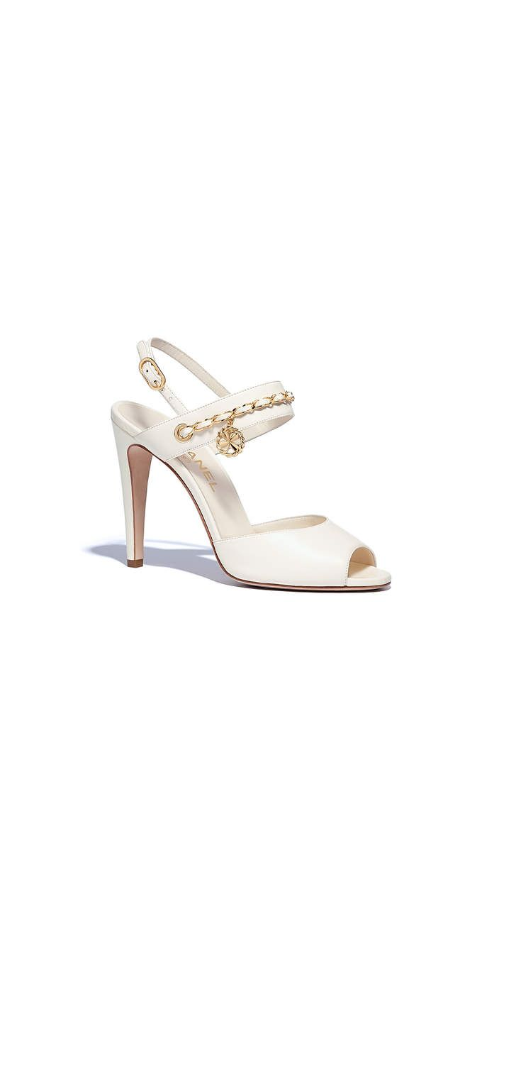 Chanel - PRE SS2018 | Ivory sandals