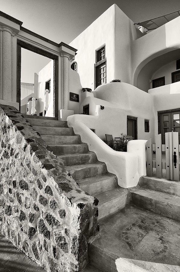 Santorini Island Architecture,Manolis Tsantakis