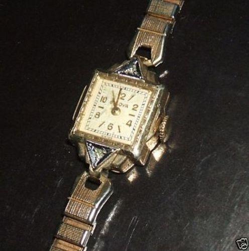Vintage Armbanduhr original 20er Jahre Bulova Uhr 10K Gold Plated mit Band | eBay