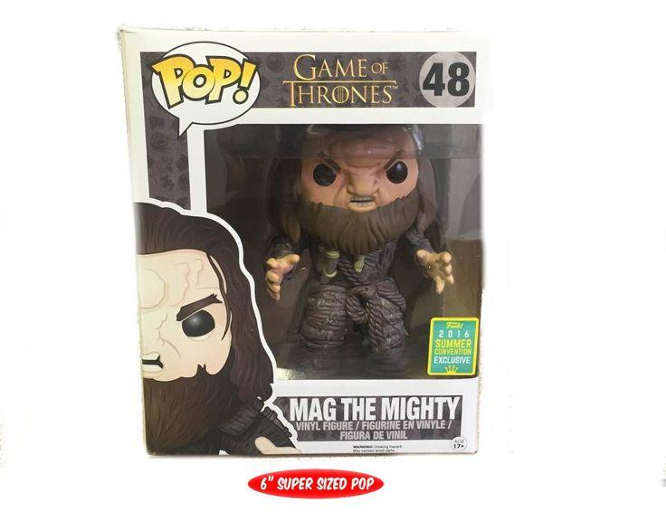 Funko Pop TV: Game of Thrones - Mag the Mighty 2016 SDCC Exclusive Vinyl Figure