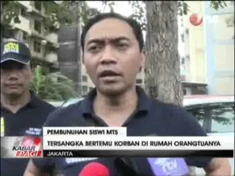 Polisi Gelar Rekonstruksi Kasus Pembunuhan dan Pemerkosaan Siswi MTs
