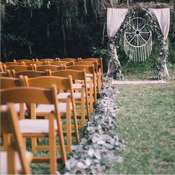 Large Macrame Wall Hanging, Dreamcatcher, Bohemian Wedding Decor, Rustic Wedding, Folk Wedding, Macrame wedding backdrop
