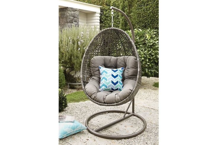 What better way to relax and soak up the sunshine than in this Hanging Egg Chair.  The gorgeous Malta Hanging Egg Chair has is perfect for relaxing, reading or just watching the clouds float by. The chair is held securely by a chain, so you can also gently rock yourself back and forth for that soothing sensation.  The only problem is that once you're in it, you won't want to get out!