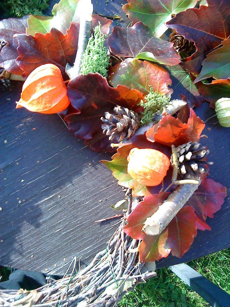 podzimní derorace