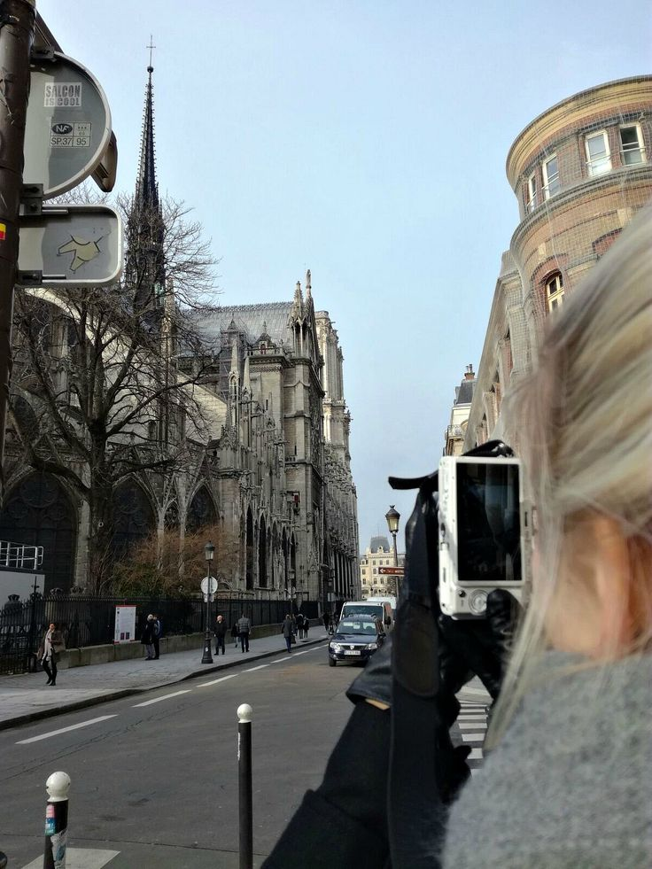 Hannas Home / Paris in January / The Notre Dame