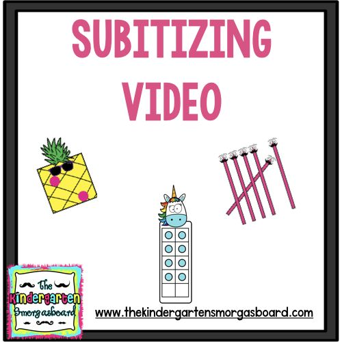 This post features a fun and free video for students to practice subitizing. Subitizing is number fluency and is a key predictor of math achievement.