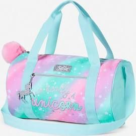 Justice - Girls Unicorn Duffle Bag. Tween Girl's totes & duffels ...