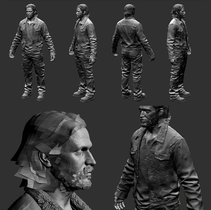 The Last of Us Characters Sculpt tommy1