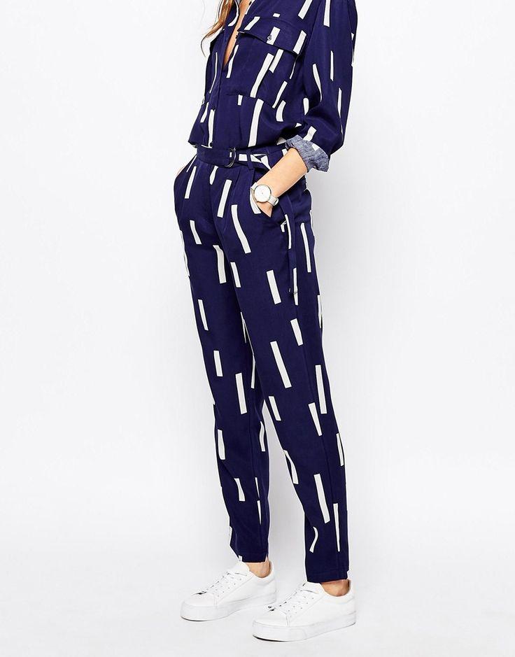 Image 4 - Selected - Anzia - Pantalon avec boucle en D
