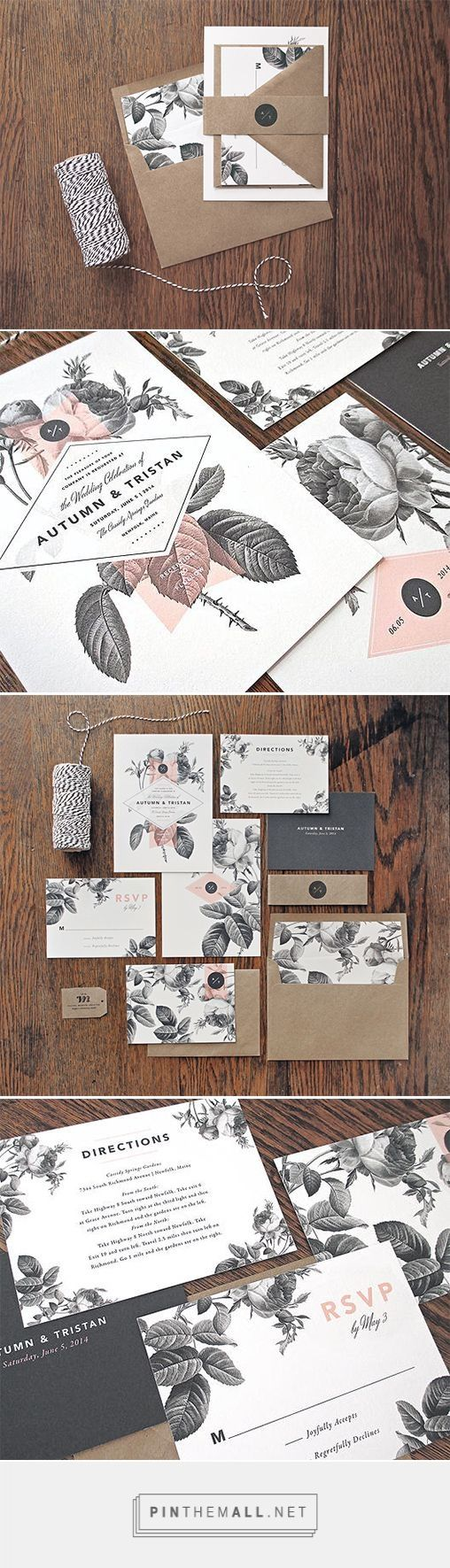 Floral Wedding Invitations | Fivestar Branding – Design and Branding Agency & Inspiration Gallery