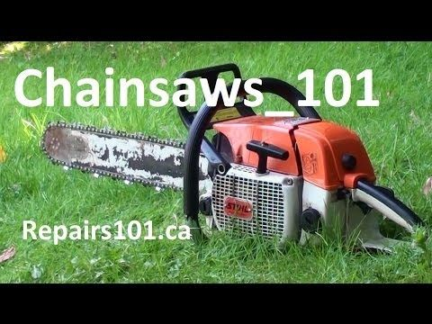 Chainsaws 101 - Safe Operation - What You Need To Know - YouTube