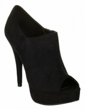 Poll in black suede by Sugar Sugar. High heel shoe boot $69.95 with free shipping in Australia