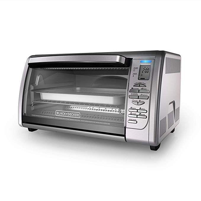 Black Decker Countertop Convection Toaster Oven Silver Cto6335s