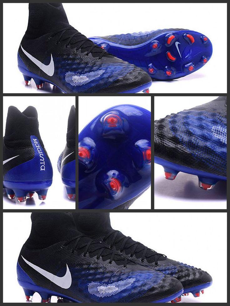 Portando la creatività ad un nuovo livello, le Scarpe da calcio Nike Magista Obra II Fg Nero Blu Bianco sono progettate per controllare il gioco su campi naturali compatti.Ordine da www.scarpedacalciomagista.com