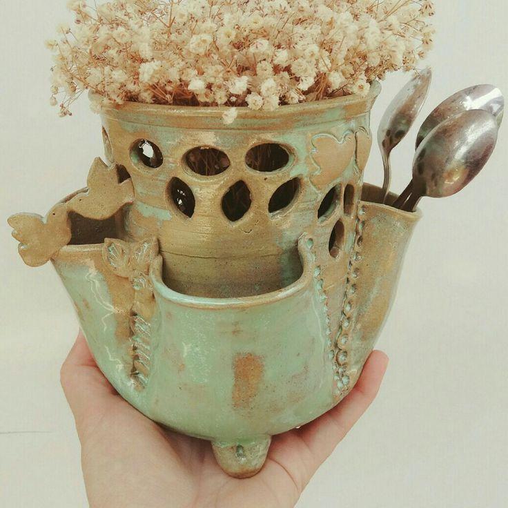 My happy bird love pot