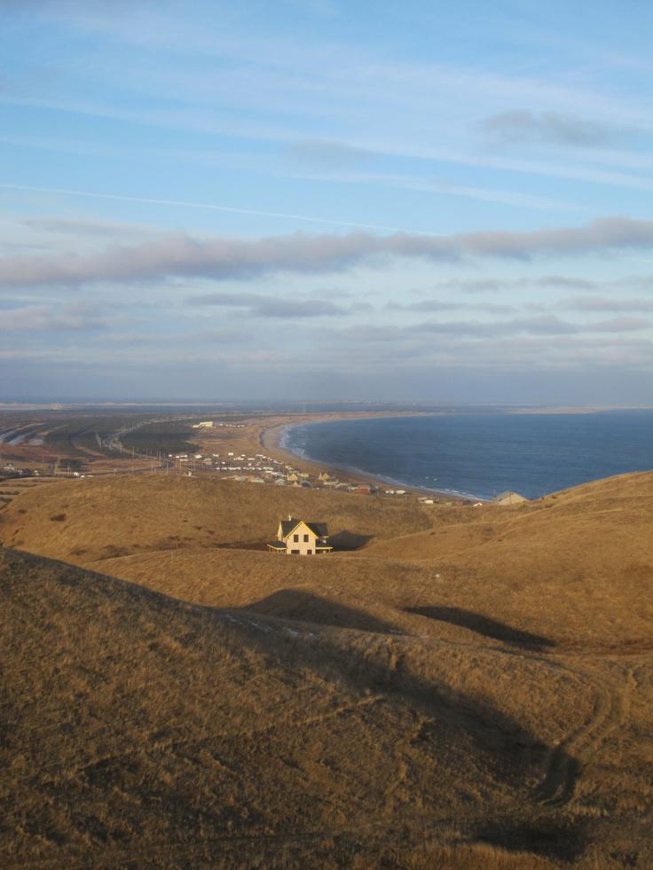 'Hiking' in Magdalen Islands