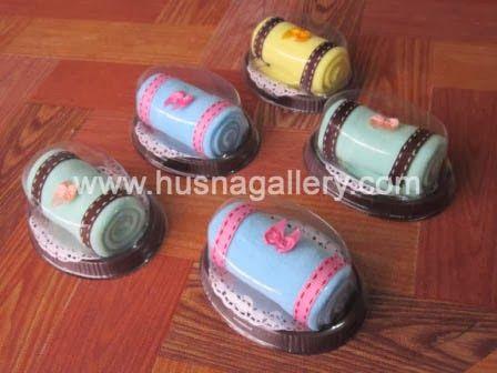 TC 12 Towel Cake Roll Oval Pita | Souvenir Pernikahan, Murah dan Unik, Souvenir Ulang Tahun, Towel Cake, Aksesoris Bros Jilbab