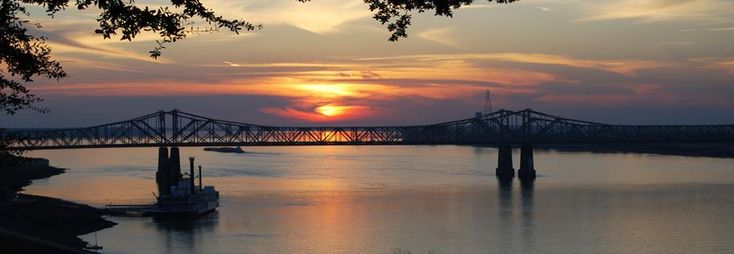 Natchez, Mississippi...I remember this bridge when my grandparents took me here as a child.