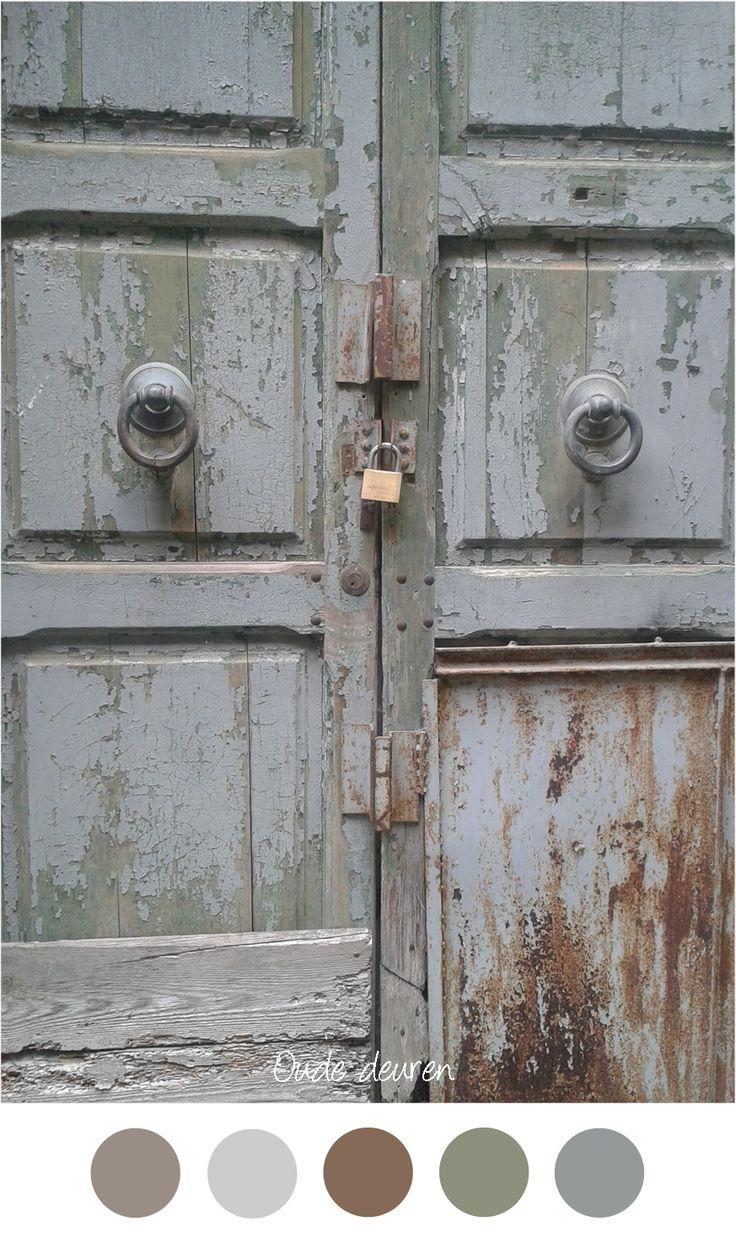 Meer dan 1000 ideeën over oude houten deuren op pinterest   oud ...