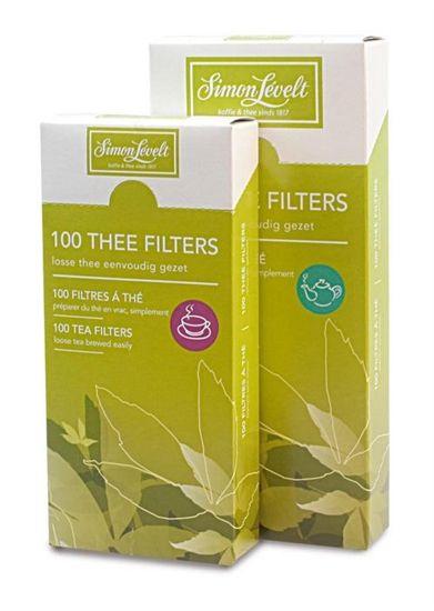 Simon Levelt - Handige papieren theefilters voor losse thee - per kop of per pot.