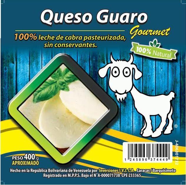 100% Queso De cabra Guaro para rebanar