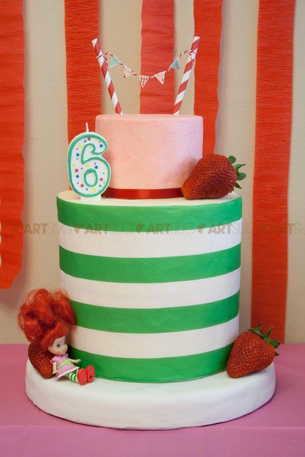 Strawberry Shortcake Birthday Cakes Images